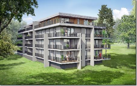 Appartement neuf 3 chambres  0C (Rez-de-chaussée)
