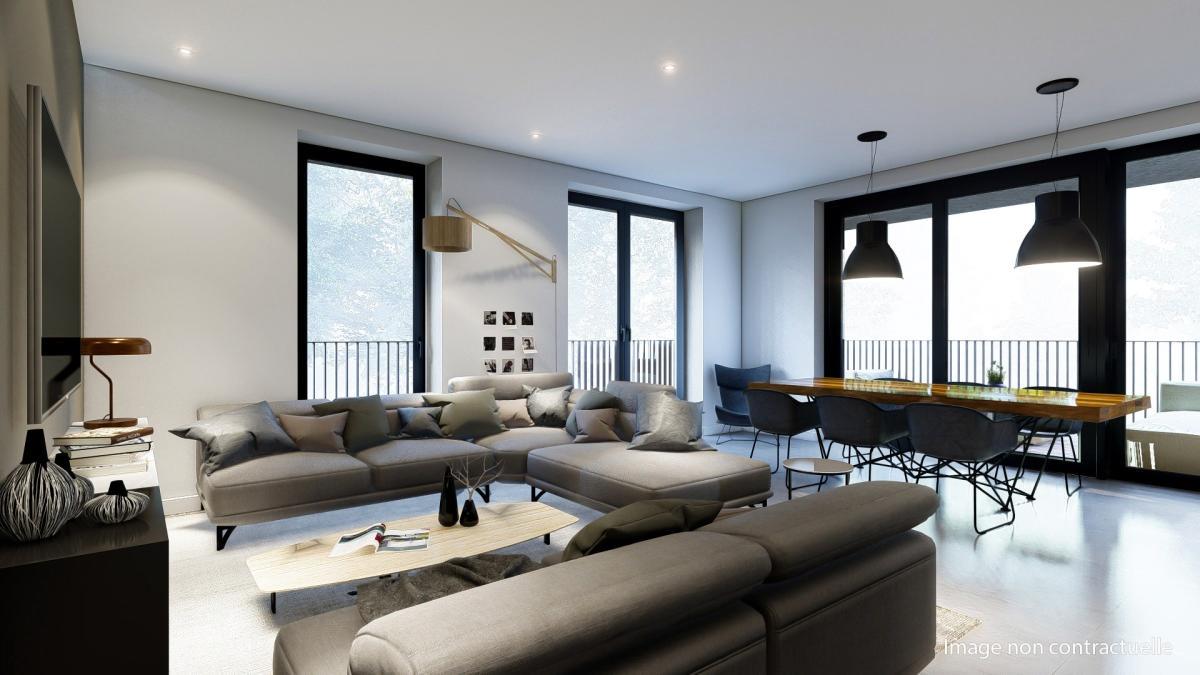 Appartement neuf 2 chambres  0E (Rez-de-chaussée)