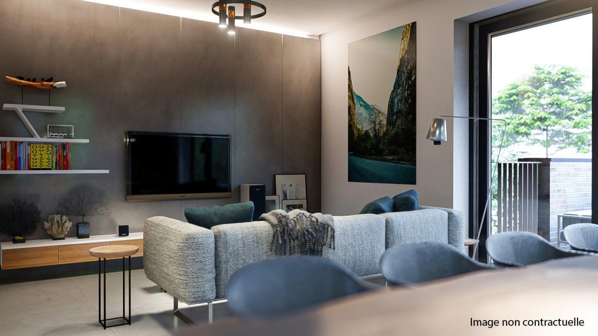Appartement neuf 2 chambres  2D(2ème étage)