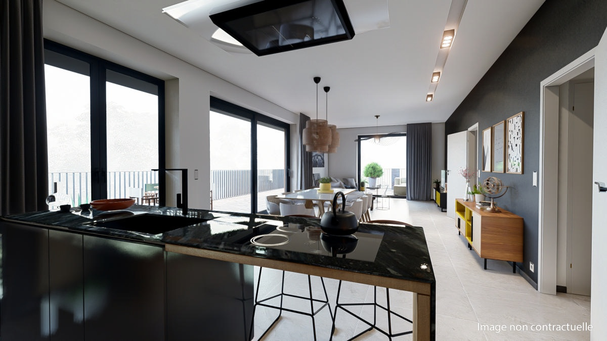 Appartement neuf 2 chambres  3A (Penthouse)