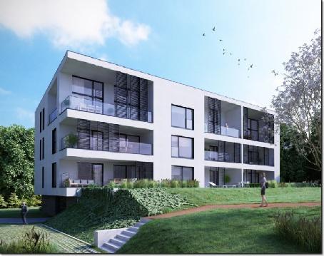 Appartement de 2 chàc du rez-de-chaussée avec terrasse de 13 m2