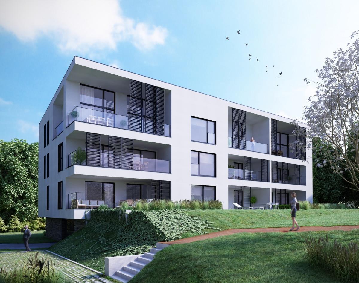 Appartement de 2 chàc situé au 1er étage avec terrasse de 18 m2