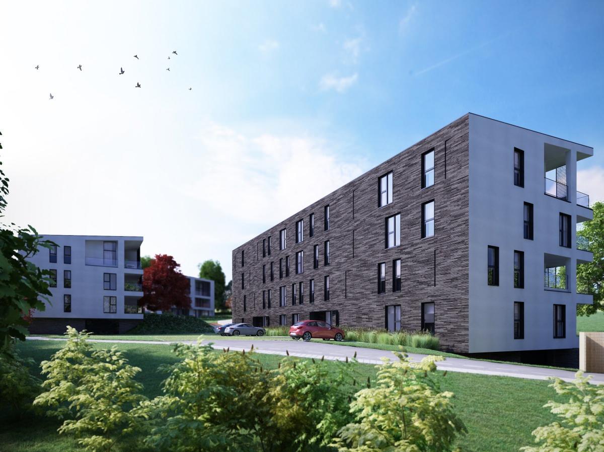 Appartement 2chàc situé au 3ème étage avec terrasse de 18 m2