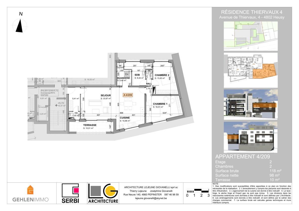Gallerie de Bureau rez de 60m²