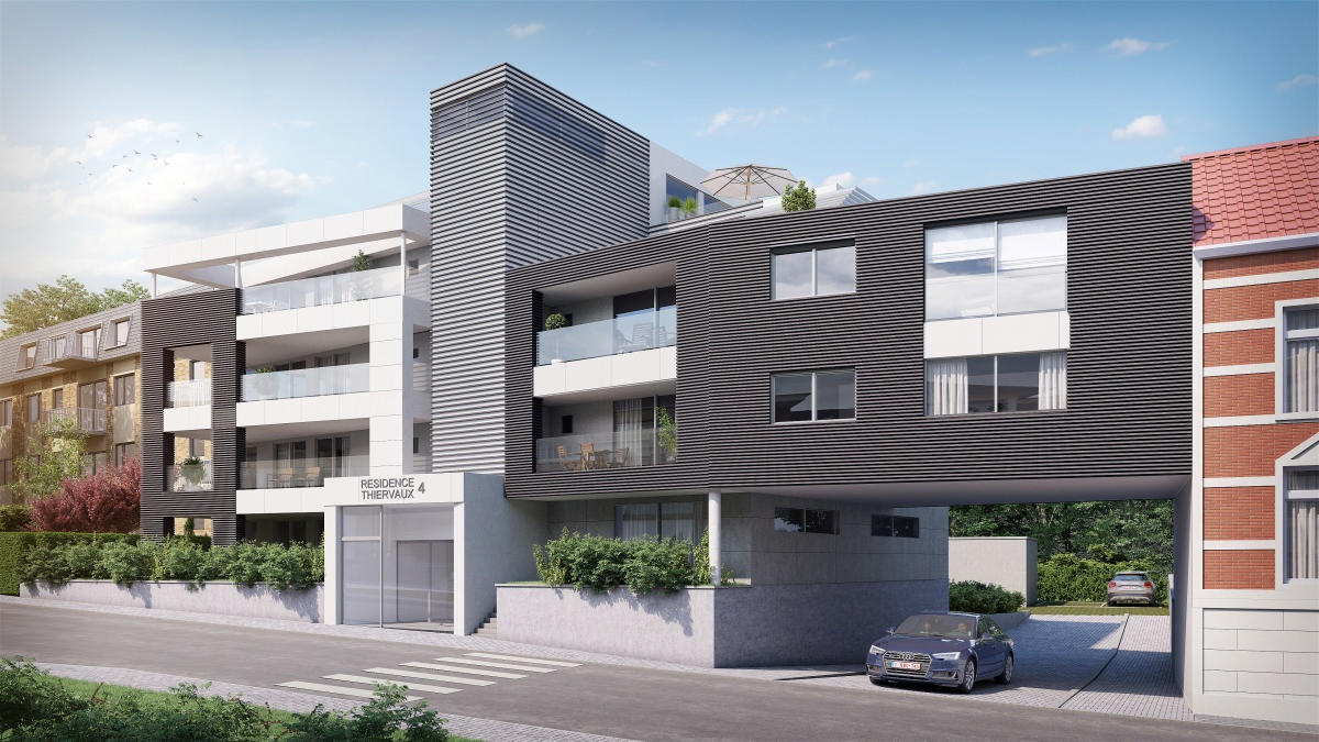 Appartement 2ème étage de 2 chambres de 118m² + terrasse