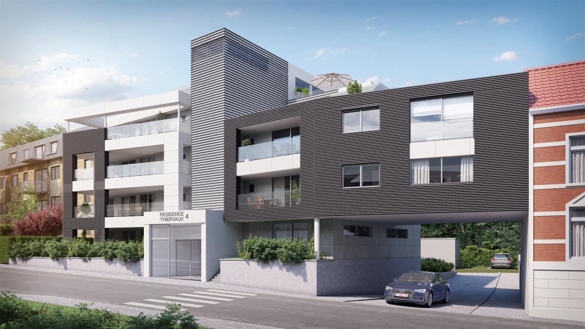 Appartement 3ème étage 2 chambres de 123m² + terrasse